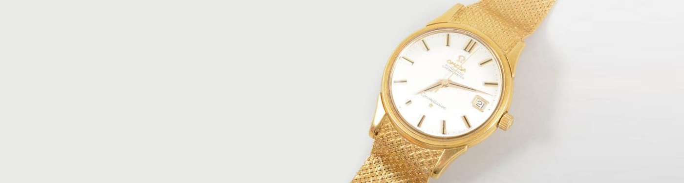 Omega Constellation wrist watch