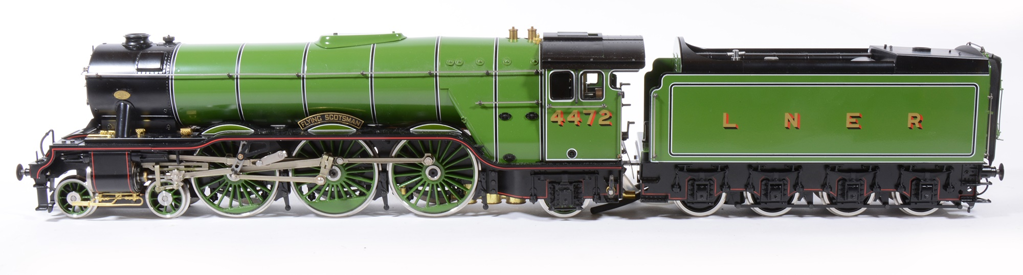 Aster Hobby live steam gauge 1 / G scale, Flying Scotsman