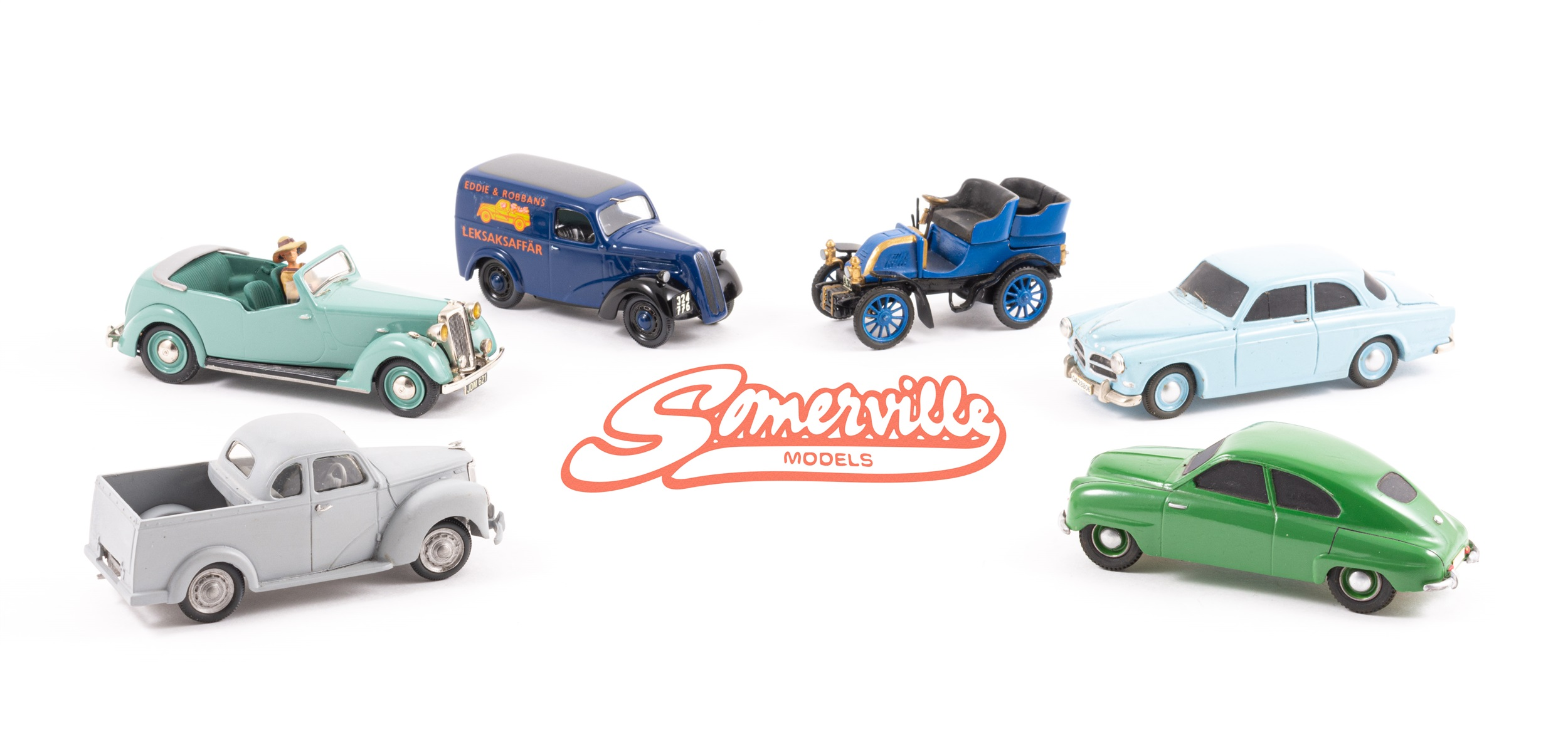 Personal Collection of Somerville Models Founder Features in November