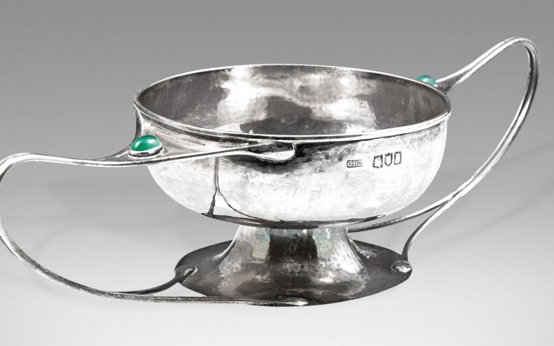 Charles Robert Ashbee silver poringer