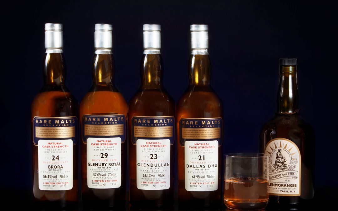Rare single malt whisky auction