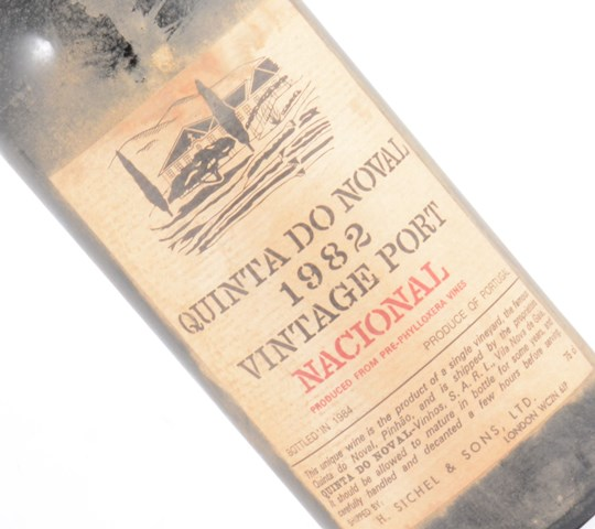 Quinta do Noval Nacional 1982 vintage port