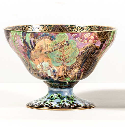 Daisy Makeig-Jones for Wedgwood, a Fairyland Lustre Bowl