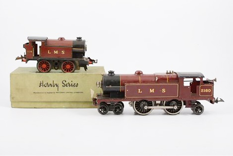 Hornby 0 gauge railway locomotives