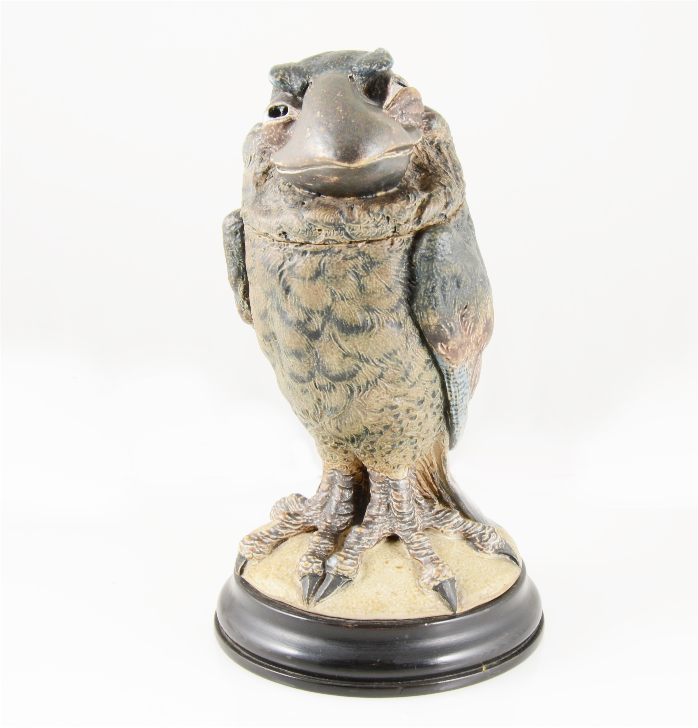 Martin Brothers Pottery, Wally Bird tobacco jar