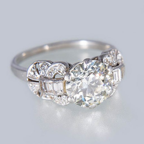 Art Deco diamond ring