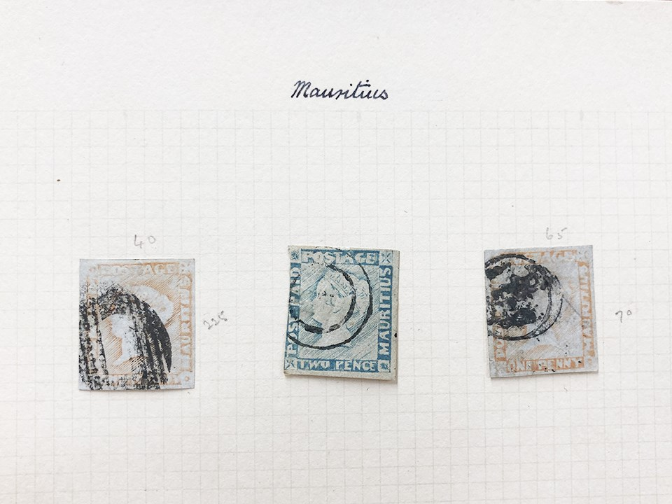 Mauritius Post Paid Stamps