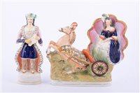 Lot 20 - Staffordshire figure, Mlle. Alboni, modelled...