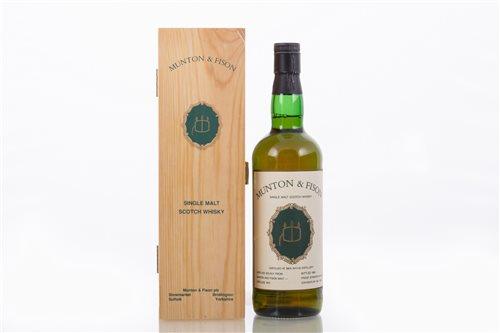 Lot 369-BEN WYVIS, 1972 for Munton & Fison, bottled 1989, ...