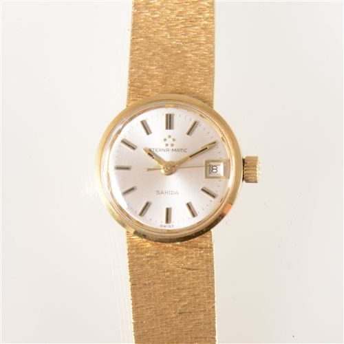 Eterna-Matic - A lady's Sahida bracelet watch,...