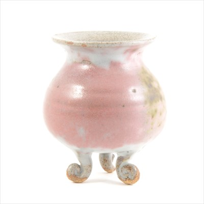 Lot 51-Chinese stoneware tripod censer, Northern Song...