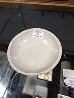 Lot 27-Chinese Qingbai type shallow dish, possibly...