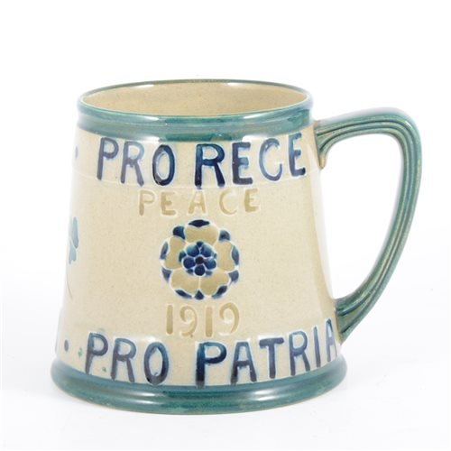 Lot 60-William Moorcroft for Liberty & Co, a 'Peace'...