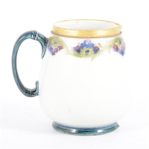 Lot 14-William Moorcroft, a small Macintyre cream...