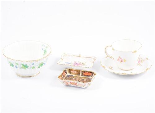 Lot 44-Small Royal Crown Derby Imari pattern pin...