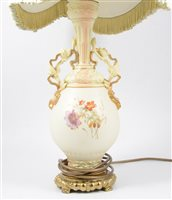 Lot 68-Modern 'Hot-air Balloon', table lamp, and two other lamp bases.