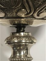 Lot 20-Italian silver chalice, apparently Rome, 1740.