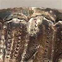 Lot 34-Rococo Revival silver beaker, France, 800 Standard, post 1838.