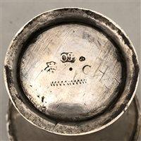 Lot 6-Swedish silver beaker, Olof Fernlöf, Göteborg, circa 1760.