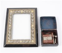 Lot 104-A contemporary rectangular picture frame