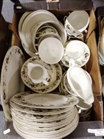 Lot 11-Royal Doulton Larchmont pattern, 56-piece...