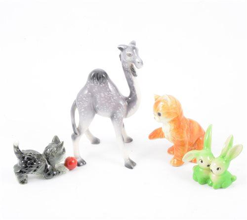 Lot 84-Seven Goebel animal figures