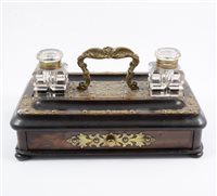Lot 90-Victorian desk stand