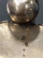 Lot 13-Scandinavian silver tankard, marked HN conjoined, mid 18th century.