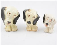 "Lot 10-Seven Crown Devon ""Woeful Willy"" figures, (7)"