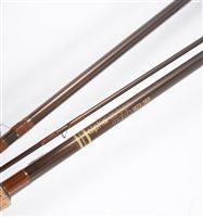 Lot 148-A quantity of carbon fibre fishing rods