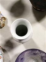 Lot 46-Chinese polychrome bottle vase