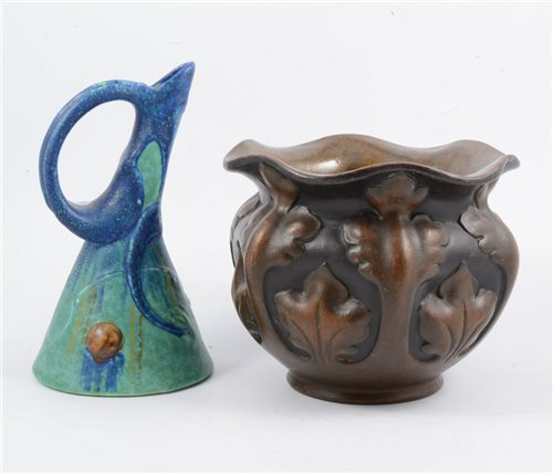 Lot 50-Two Bretby Art Pottery vases