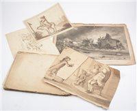 Lot 100-Folio of engraved plates after John Freeman