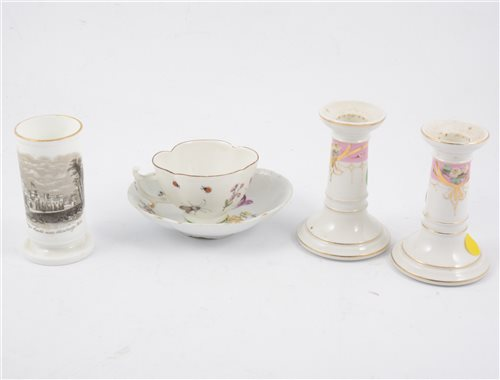 Lot 42-Collection of Victorian and continental ceramics
