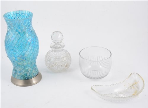 Lot 63-Five boxes of glassware