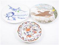 Lot 108-A quantity of Victorian ceramic tableware