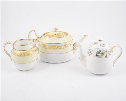 Lot 30-Spode Copeland part tea and dinner services, including Luneville pattern