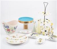 Lot 111-One box of vintage/ retro ceramics