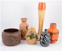 Lot 87-Two boxes of assorted decorative ceramics