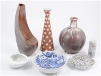Lot 114-A box of assorted mid-century Scandinavian decorative ceramics