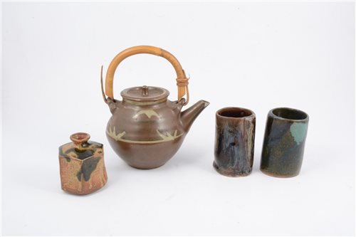 Lot 60-Four items of Chinese stoneware