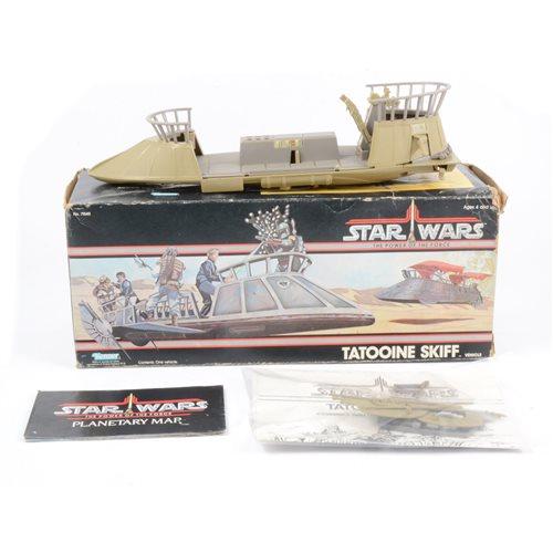 Lot 181 - Star Wars Tatooine Skiff Vehicles, by Kenner