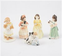 Lot 53-A collection of mixed Royal Doulton figurines (12)