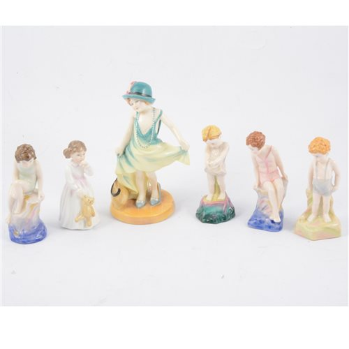 Lot 2-A collection of limited edition and first year of issue Royal Doulton figurines (6)
