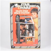Lot 150-Star Wars Death Star Space Station, by Kenner Toys, in original box.