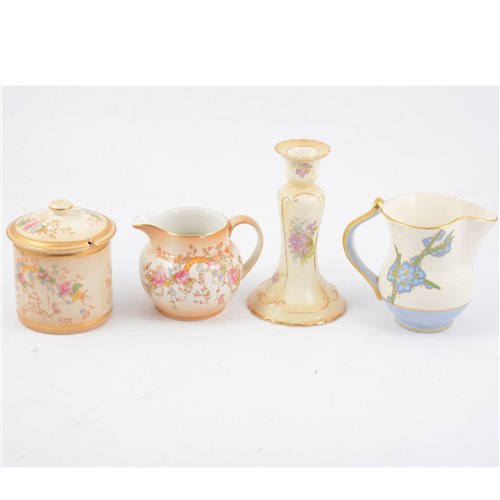 "Lot 4-A collection of Crown Devon blush ivory teaware in the ""May"" design"