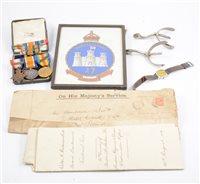 Lot 233-Queens Westminster Rifle Volunteers Officers Uniform