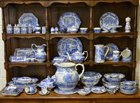 """Lot 70-A large quantity of Spode """"Italian"""" and other collections table ware and decorative items, including a limited edition milking jug (722/750), a limited edition """"Girl at Well"""" bowl (309/450)... (44)"""