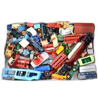 Lot 108-Matchbox Lesney, Benbros and other diecast models