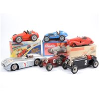 Lot 102-Schuco Germany modern tin-plate models